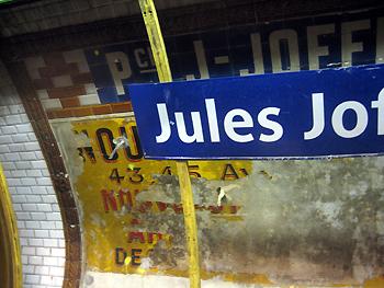 Jules Joffrin, line 12, Paris - 25 APR 2008