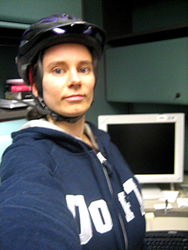 AN on bike to work day, NLM - May 2007