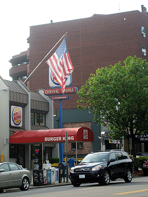 Burger King on CT ave NW DC, MAY 2007
