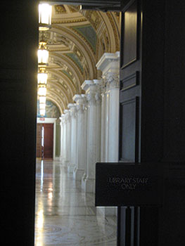 Bibliothèque du congrès - DC, October 2006