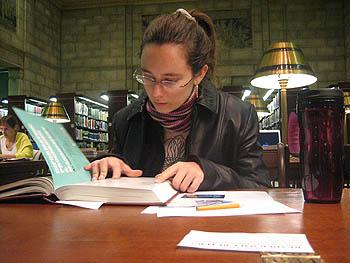 Chuuut, ici on travaille!! -  Bibliothèque du congrès - DC, October 2006