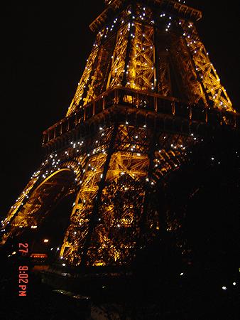Tour Eiffel (Paris), Décembre 2005 - photo:Karolina