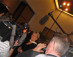 MAM à l'ambassade de France - DC, 19 Octobre 2006