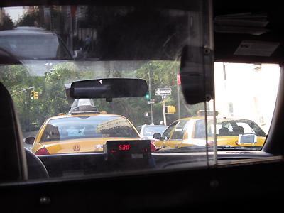 Dans le Taxi New-yorkais