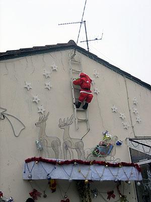 Ascension du Père Noël - Décembre 2006