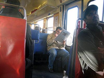 RER B, Paris - DEC 2007