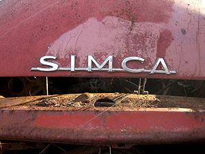 Bye bye, la Simca 1000 du voisin... - Guillonnet, 29 Octobre 2006