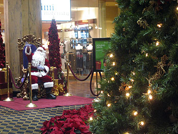 Santa Claus at the Mazza Galery - 9 Décembre 2006