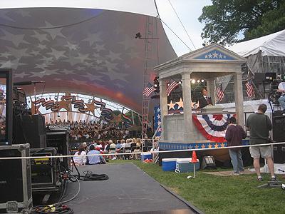 A Capitol Fourth, dress rehearsal, DC 3 JUL 2007