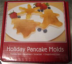 Holiday pancake molds, DC - JAN 2008
