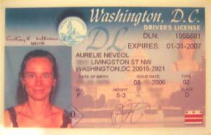 Victoire, je l'ai eu!! - DC, August 2006