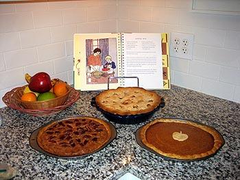 Thanksgiving desserts, VA - 22 November 2006