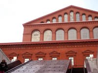 National Building Museum, coming out from Judiciary Square metro on F Street